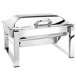 Commercial Kitchen Machinery Manufacturer, Supplier.  Manufacturer of a wide range of products which include rectangle dome chafer, copper gujarati handi chafing dishes, roll top round chafing dishes, roll top round chafing dish, rectangle crystal lag chafing dish and deluxe chafing dish.