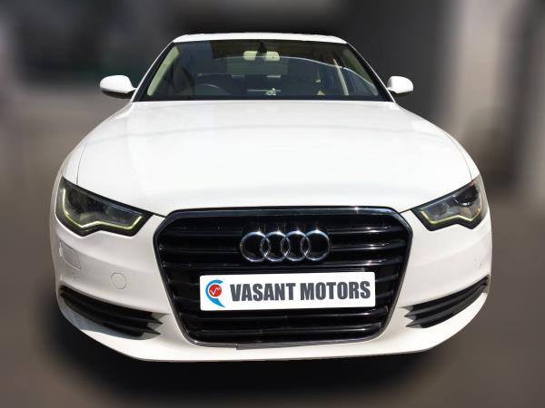 AUDI A6 2.0 TDI ( WHITE COLOR, DIESEL), 2012 model done only 83, 000kms in absolute mint condition. For further info call 7569696666.
