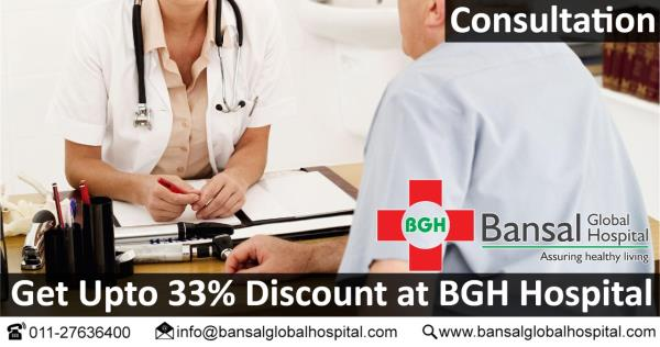 #Get_Upto_33%  #Discount_at_BGH_Hospital #Consultation  #Bansal_Global_Hospital  #Contact_Now  Ph : 011-27636400  Email : info@bansalglobalhospital.com  Address : C-10 Ramgarh, , Near Jahangirpuri Metro Station,  Delhi, 110033 Visit : https://bansalglobalhospital.com/doctor_consultancy_offer/