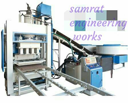 We are construction machinery manufacturer flyashbrickmachine and flyashblockmachine in india.    Samrat construction machinery company in only always standard goods and measurement first quality machine making.  Per machine with full 1 year warranty but warranty in not using because Samrat engineering works company is always full carefully measurements so customer not machine problem Face to Face.   We are also machine service provider and supply like wise Rajasthan, Maharashtra, Pune, Russian America, China, Uttarakhand, Madhya Pradesh, uttar Pradesh, Orissa, MP, Up., jarkhand, Raipur, Chhattisgarh, Delhi, Jaipur, Kolkata, West Bengal, Assam, Bihar, Kota, jassi, Aurangabad, Ahemdabad, Rajkot, Gujarat, and all India etc....