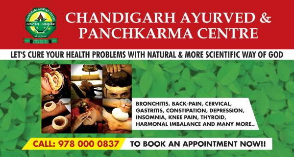 One stop for all Ayurved treatment And with all natural remidies Chandigarh Ayurved Centre