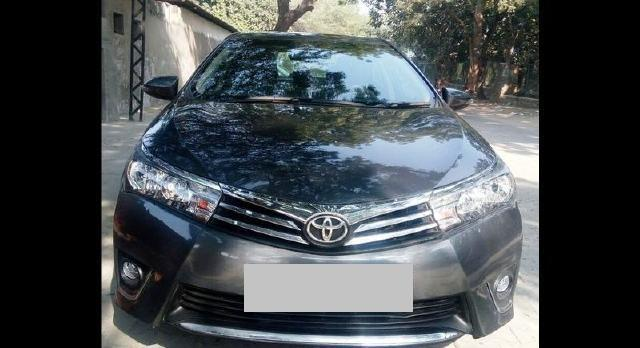 USED TOYOTA COROLLA ALTIS  IN DELHI  2014 MODEL, TOYOTA COROLLA ALTIS  GD, MANUAL, 49, 000KMS (WITH SERVICE RECORD), GREY COLOUR, DL REGISTRATION, SINGLE OWNER, INSURED TILL 2018 SEPTEMBER, 12.30LACS. THIS IS A WELL MAINTAINED CAR. IT IS A NON ACCIDENTAL CAR WITH FULL GUARANTEE. WE PROVIDING FINANCE AND OTHER SERVICES.
