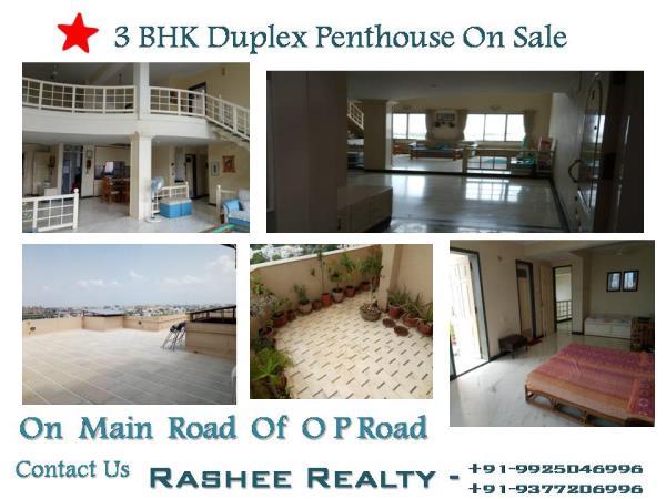 3-BHK Duplex Penthouse on