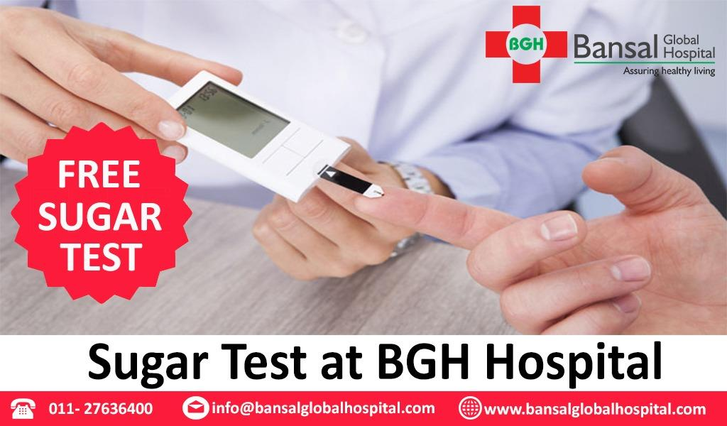 #Free  #Sugar_Test  #Bansal_Global_Hospital  #Contact_Now  Ph : 011-27636400  Email : info@bansalglobalhospital.com  Visit : https://bansalglobalhospital.com/doctor_consultancy_offer/  Address : C-10 Ramgarh, , Near Jahangirpuri Metro Station,  Delhi, 110033