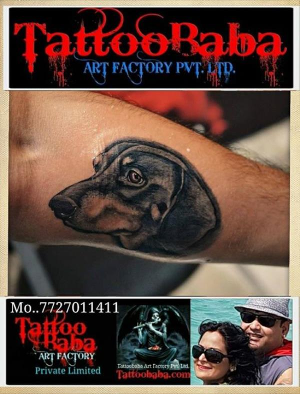 Pet Tattoo, express your love to pet animals love the most faithful pet in the world. visit our Studio for more tattoo