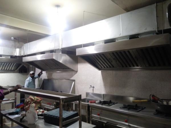Complete Kitchen Equipment Solution, Exhaust System Done At Punjabi Rasoi Restaurant Naavalur, Omr Road , Chennai, Commercial Kitchen Equipment Manufacturer In Chennai