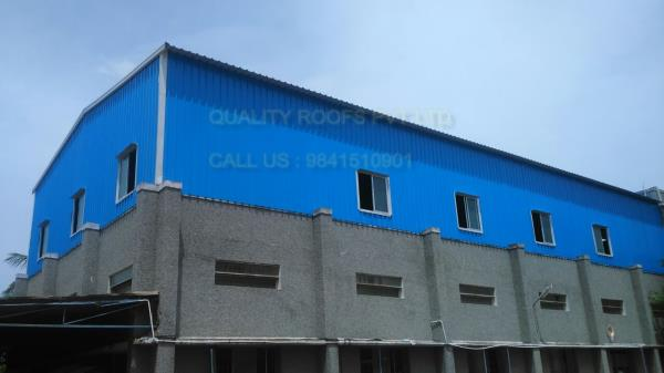 Roofing Contractors Chennai         We are the topmost for this industry we are offered Roofing Contractors Chennai. We are capable of offering roof in different sizes and dimensions and other optional features as per the specified requirements of our clients.   In order to provide a word class service, we have employed talented professionals with lot of experience in the field.  we are offering Metal Roofing Sheets In Chennai.