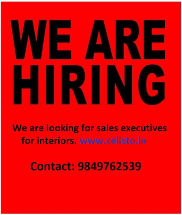 We are looking for Sales