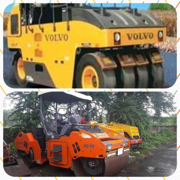 Road Roller on rent.  Tandem roller and vibratory roller available on rent.  Details Tandem roller - Hamm HD99 PTR - Volvo PT220  Location : Ahmedabad   Available on rent as a set at attractive rental price.  For more details contact us.  Vishal Thakkar  +919825150574  E-mail: Vct@vishalroadlines.co.in  Website: www.vishalroadlines.co.in  Also subscribe us here. Www.constructionequip.in  #construction equipment #PTR #road roller