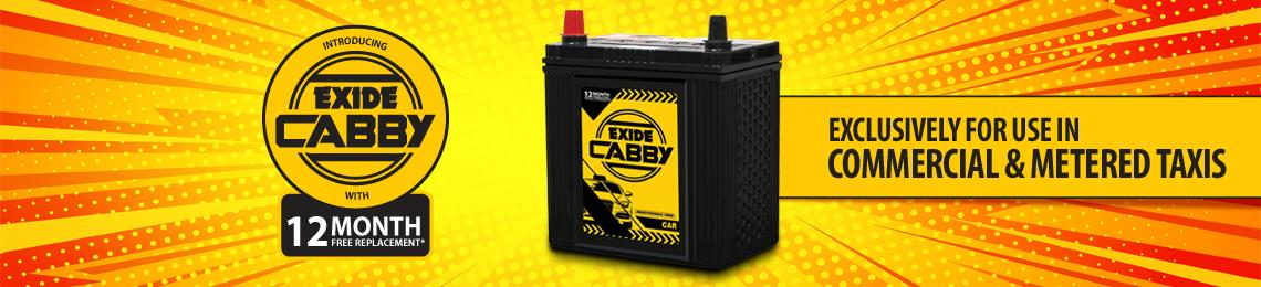 Exide presents CABBY excl