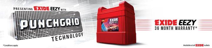 Latest in Battery technology from India's Largest Battery Brand Exide. Punchgrid technology. For more info visit us at http://bngroup.in/Latest-in-Battery-technology-from-India-s-Largest-Battery-Brand-Exide-Punchgrid-technology-/b3