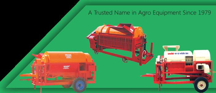 Self Feed Multicrop Thresher Manufacturer in Nagpur.  We offer our clients Jailaxmi Multicrop power thresher (Model- Electric Motor/Diesel Engine Driven) DBDF Self Feed Model (10 HP) self feed. These are high quality threshers which comprise 18 open cylinder with stud bitter on bars, two flywheels & two fans mounted on main shaft, a rubbing plates are welded on cylinder cover & Interchangeable concave fixed at bottom (For different crops). The salient features are as below: Oscillating sieve is move by eccentric system Auxiliary Blower provided for cleaning weeds & week seed grains. Removable screens are provided for different types of crops Self feed attachments are assembled in machine for easy & less effort during feeding of crops