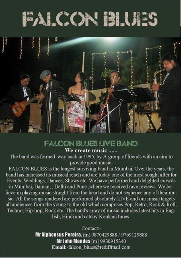 FALCON BLUES LIVE BAND MUMBAI
