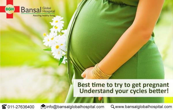 Best time to try to get pregnant- Understand your cycles better!  While infertility is on the rise, couples are bound to get worried when they are unable to conceive in spite of regular efforts. But in most cases, it isn't about fertility. It's about the right time. Just trying randomly might not bring out expected results.  #Bansal_Global_Hospital  #Contact_Now  Ph : 011-27636400  Email : info@bansalglobalhospital.com  Address : C-10 Ramgarh, , Near Jahangirpuri Metro Station,  Delhi, 110033  Visit : https://bansalglobalhospital.com/infertility/