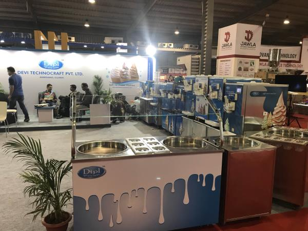Dtpl one of the leading manufacturer of ice cream machine in Exhibition