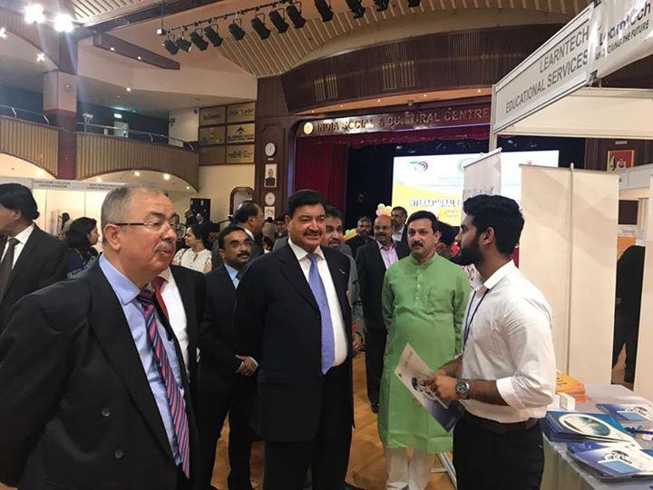 Facilitating on spot Admissions through Exhibitions and Expos... Glimpse of Edu Expo at Abu Dhabi.... - by Bangalorestudy.com, Bangalore