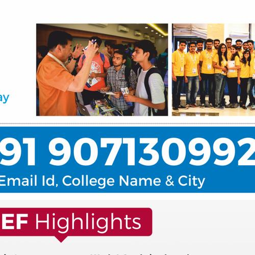 This Coming February 2018, visit the ISEF in Indore to study Abroad !!! Delegates from the universities and colleges across the Globe will be participating. Visit us with 3 copies of all your academic and/or work experience documents. This large-scale International Students Education Fair(ISEF) will...