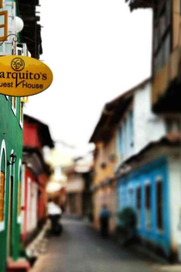 Fontainhas: Also known as the heart of panjim city an area known for its history and antique touch. Marquito's Guest House lies on the banks of the famous