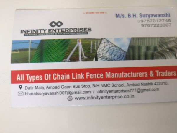 Best chain link fence in nashik