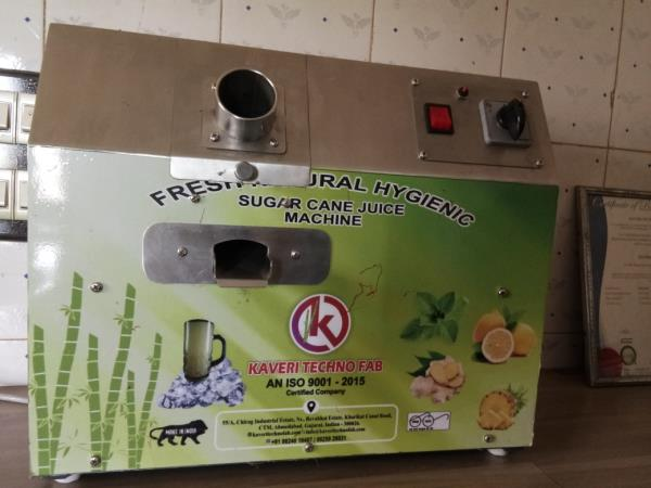 sugarcane juice machine.