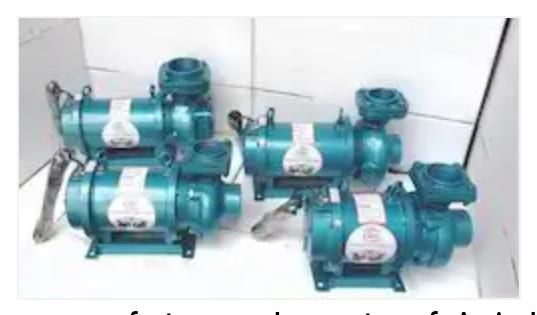 Agriculture Submersible Pump   We are manufacturer and exporter of Agriculture Submersible Pump.  Material of Construction:   Additional Information:  Minimum Order Quantity:10 Pieces
