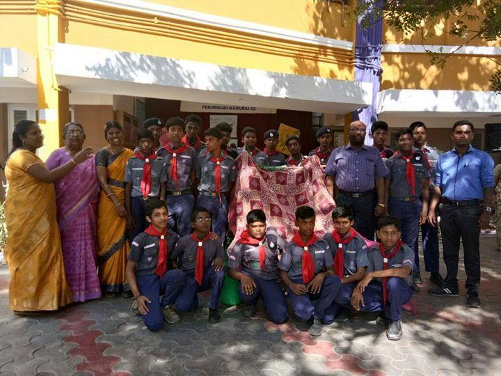 our school scout student's  For more info visit us at http://amudhammatriculationhrsecschool.nowfloats.com/our-school-scout-student-s-/b158