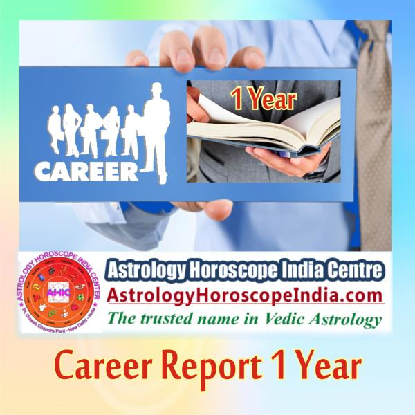outh Extension Delhi India:Career report 1 year is a factual guidance that will help you how to get along with your career path. We help you plan out your activity by sidestepping risks and recognising what holds best for your situation. You can choose this for short-term analysis on your career. Get Career Report 1 Year. http://astrologyhoroscopeindia.com/career-report/p42#CareerAstrology