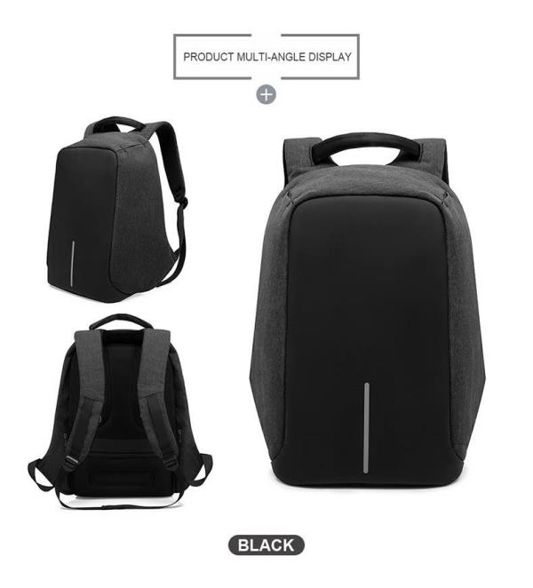 Laptop Back Pack Bag With Anti Theft And USB PortCharger for Both Men And Women. Just Drop in At Downtown, Shalimarbagh, New Delhi.  For More Info:  Visit our Store or Website:  http://downtownonline.in