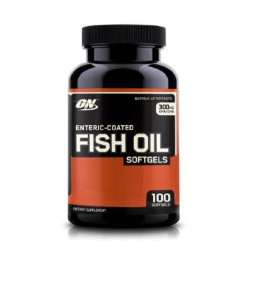 ON Enteric Coated Fish Oil Unflavoured 100 Caps  Boosts immunity and builds resistance against diseases Enhances body's metabolism Aids in cell development and repair