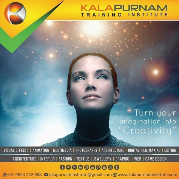 Turn your imagination into creativity. Kalapurnam Institute.