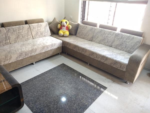 L-Shape Sofa Set In Vadodara