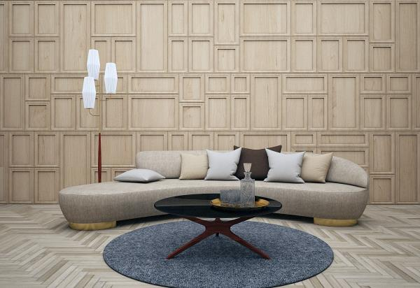Wall design for living room