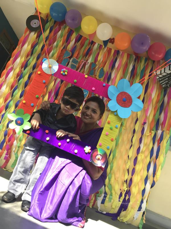 Our retro party and holi fest at Advaita-montessori house of children  Best preschool in tiruppur  Top preschools in tirupur Best montessori school in tirupur Best play way learning method schools in tirupur Best play schools in tirupur Best preschools in tirupur Montessori schools in tirupur