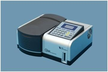 Double beam UV-VIS spectrophotometer Product details: Double beam UV-VIS spectrophotometer with software Microcontroller based instrument having range 190-1100 mm, On-screen standard curve display on large 5 inches graphic LCD, 1.0mm spectral bandwidth, 1200 lines/mm grating, 8 position auto cell changer, Wavelength scanning, PC connectivity through USB port & direct printer connectivity using parallel port interface. It has facility for WL Scan, Kinetics, multi wavelength & DNA/protein models, inclusive of PC software. Double beam UV/VIS spectrophotometer microcontroller based instrument having range 190 to 1100 mm with 24x2 line LCD display, two quartz cuvettes, 18 touch keys, base line correction, source optimization & electronic calibration etc. It has facility for measurement of % T, Abs.Conc., K-Factor and multi component analysis. A set of 2 Quartz & set of 4 glass cuvettes. The operating modes are single/multi wavelength, wavelength scan, time scan etc. PC software Single beam scanning UV-VIS spectrophotometer Microcontroller based, range 190-1100 mm with basic PC software and 4 position cell changer. It has graphic LCD for display of kinetic, concentration graphs. PC connectivity through USB port & direct printer connectivity using parallel port interface. Extensive elaborate keyboard for ease of operator. Sample compartment can accommodate up to 100 mm cuvettes (optional), Bastic modes like %T, Abs, concentration, kinetics avilable. Wavelength scanning and DNA/proteins can be done using advanced professional PC software Single beam UV-VIS spectrophotometer microcontroller based, range 200-1000 mm with basic PC software and 4 position cell changer. PC connectivity through USB port & direct printer connectivity using parallel port interface. Sample compartment can accommodate up to 100 mm cuvettes (optional).basic modes like %T, Abs, concentration, kinetics, available. Wavelength scanning can be done using advanced professional PC software Microprocessor UV/VIS spectrophotometer (single beam) range 190 to 1000 mm with facility for automatic concentration, %T, Abs, and K factor measurements. It has 16x2 line LCD data display and motorized wavelength selection on 4 digit LED display. It has quard sample holder with 4 position selector control for 10 mm path length cuvettes. Facility has been provided for 100 sample data storage and interface with any centronic printer. A set of 2 quartz cuvettes is provided. RS 232C interface software can be provided on request. Digital UV-VIS spectrophotometer (single beam) range 190 to 1000 mm with facility for automatic concentration, & Transmission & Abs. measurements. Motorised microcontroller based wavelength selection, 4 digit LED display for wavelength, 3½ digit LED data display. It has 4 position sample holder with position selector control for 10 mm path length cuvettes. A set of 2 quartz cuvettes is provided