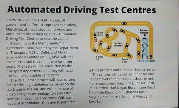 Automated Driving Test Ce