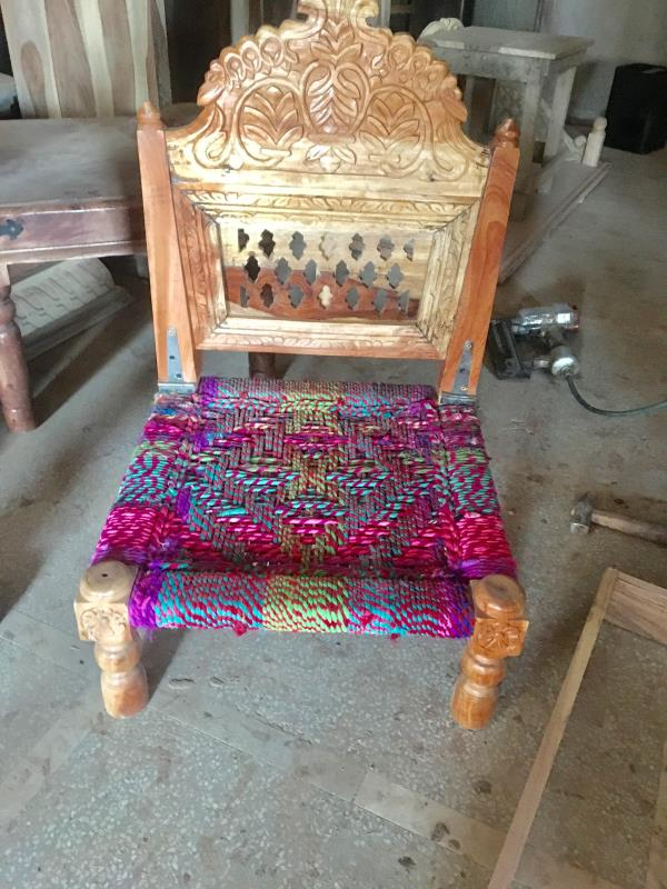 Wooden pidha chair