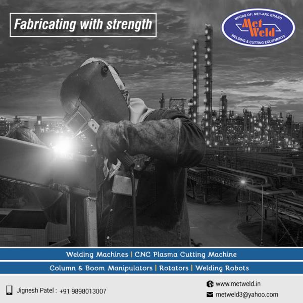 Met Weld joints any industrial parts with finest quality and makes it strong and long-lasting.   #Regulator-Type-Welding-Transformer-Manufacturers  #Stud-Type-Welding-Transformer-Manufacturers  #DC-Welding-Rectifier-Manufacturers  #Welding-Rectifier-Manufacturers  #Submerged-Arc-Welding-Manufacturers