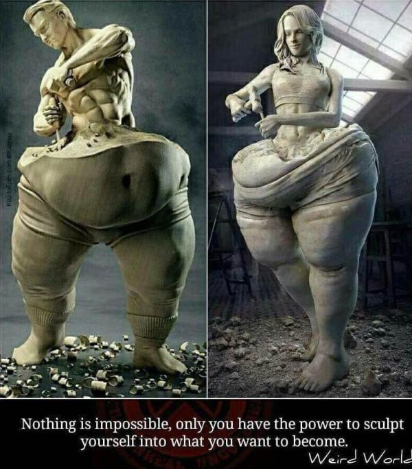 Nothing is impossible 💪🏻