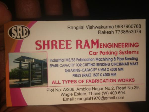 We  are  manufacturer of car parking systems