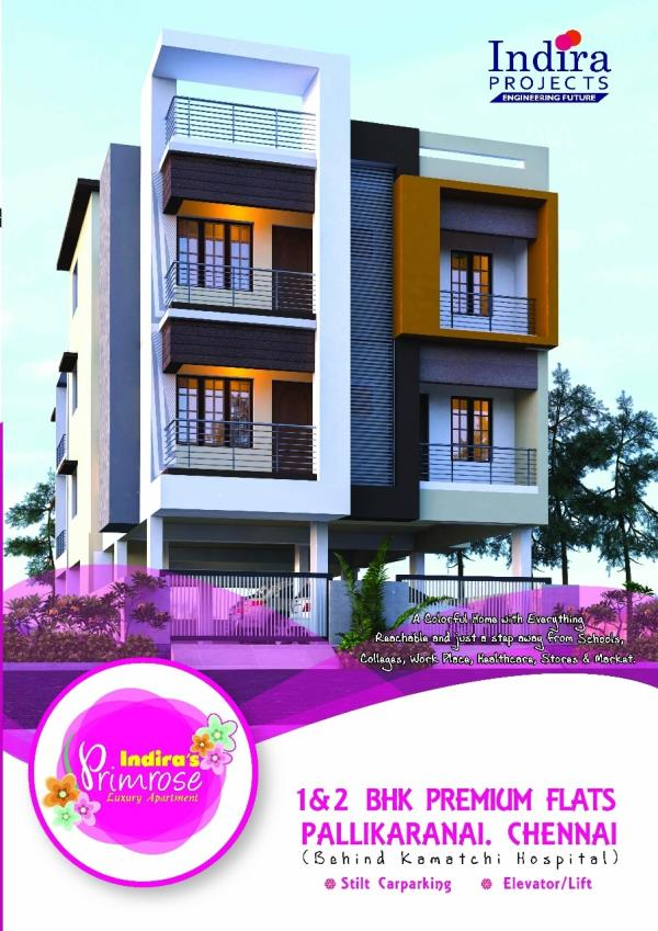 Flats for sale in pallikarainai