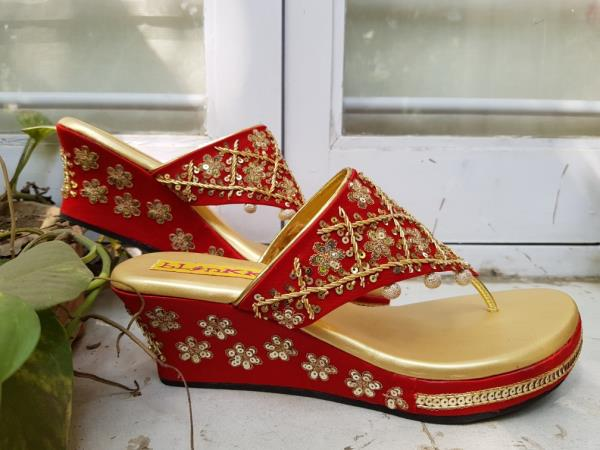 Red Bridal Zardosi and Se
