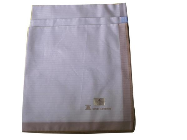 All hankies are of 60s quality, in combed cotton