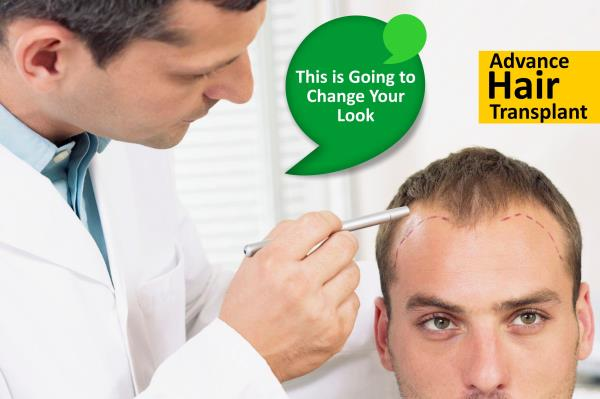 Hair Transplant   Hair transplant is primarily used to treat male pattern baldness.It can be done in two different ways - FUE and FUT.  for more info:http://www.kakarhealthcare.com