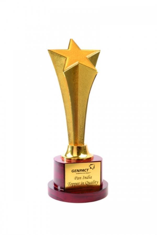 Metal trophy supplier in