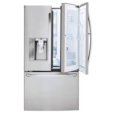 LG 29.6-cu ft French Door Refrigerator with Ice Maker and Door within Door (  Images may be subject to copyright.