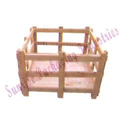 WOODEN CRATES  Product descrip