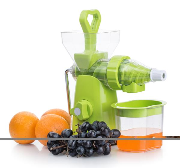 JUICER AND CRUSH MAKER :-  VEGETABLE AND FRUIT JUCIER AND CRUSH MAKER. THESE FRY PAN ARE PROVIDED WITH ONE SAFETY HANDLES THAT MAKES COOKING EASY. RAW ALUMINIUM GRIT BLASTING WOODEN SPATULA AND SPONGE. SMOOTHLY ROTATING GEARS ARE ENCLOSED FOR PROTECTION AND EASY CLEAN-UP SOFT, COMFORTABLE, NON-SLIP GRIPS ON TURNING KNOB AND CONTOURED HANDLE. IDEAL FOR FOR ORANGE, GRAPES, PINEAPPLE, SWEETLIME, WATER MELON.  •	Material: Polycarbonate Shock Resistant ABS Body, Made In India  •	Package Content : 1 Juicer ( Any random color will be shipped)  •	Multi-Purpose , Fastest, safest and easiest way to extract fruits, vegetables juices  •	Its compact form makes it easy to store, pack & carry for outings & picnics. Good to extract juice out of orange, pineapple, grapes, sweet lime, water melon, pomegranate, palak, tomato etc.  •	Comes with steel handle, waste collector and vacuum base