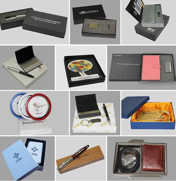 Leading supplier of corporate gifts in Mumbai  Corporate gifting is the best way of brand promotion. Gifts always make people happy be it an employee or client or just a visitor at an exhibition stall.  Giftt Hub has a wide variety of innovative and creative corporate gifts. These gifts can be personalised with your company logo. From Bluetooth speakers to Bluetooth earphones we have it all. Simple gifts like pen stand, pens, Desktop products, stationery kits also make great gifts in the corporate sector.  Contact us for all your bulk gifting requirements.