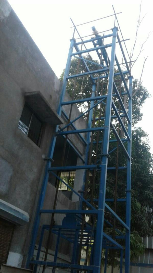 Goods Lift of 2 Ton Capacity. Instalation of goods lift in Vadodara. We are the leading manufacturer of EOT Cranes, Goods Lift, Pre Engineered Building and PEB Structure in Vadodara Gujarat. For more details visit www.sahjanandcranes.com  Thanks