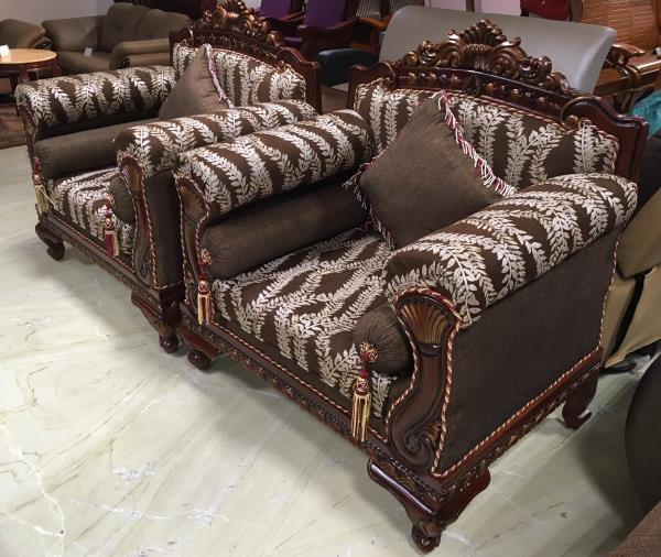 Experience the legendary Darbaar-Only at AK Antique style modern comfort-Exclusive sofa at AK Furniture